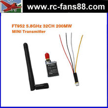 FPV FT952 5.8GHz 32CH 200MW Video Mini Transmitter SMA Female SMA Connector