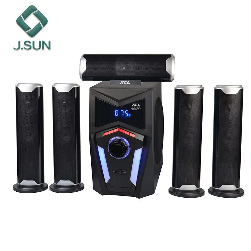 2017 Latest 5.1 home theater systems surround sound wireless blutooth ohm best dj speakers