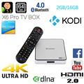 2GB 16GB Android 5.1 TV Box ZIDOO X6 Pro Octa Coare TV Box RK3368 Smart TV BOX ZIDOO X6