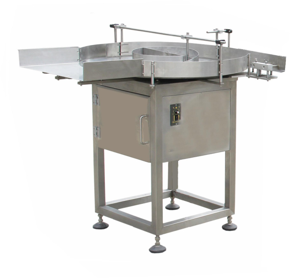 Professional Automatic High-quanlity CE certification Round Bottle unscramble Machine/turntable/feeding table