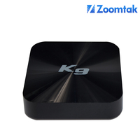 zoomtak K9 android 5.1 tv box with live streaming Channels