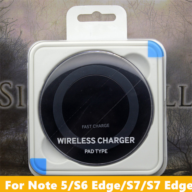 Cheap Price Universal Qi 3 Coils Fast Charging Wireless Charger For Samsung S6