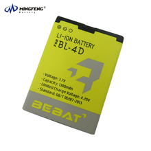 Mobile Phone Accessories Lithium ion Cell Mobile Battery used 12 Months Warranty Long Life Span BL-4D for Nokia Phone