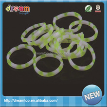 100% silicone rubber promised price hair band magnetic rubber band