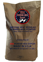 Buy USA Medium Heat Regular Skimmed Bulk Milk Powder Made From Pasteurized Milk For Charity And Foundation