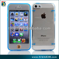 New Transparent PC Hard cover for apple iphone5c