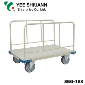 YEE SHIUANN 8inch caster 500kg capacity heavy duty platform hand truck