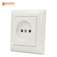 Safety 16a 250v european style wall switch oem high quality home using electric socket outlet