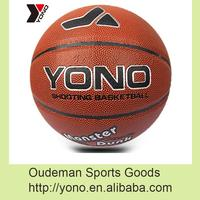 2016 YONO Custom PU basketball wholesale cheap price