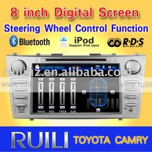 2011 hot sell TOYOTA CAMRY car radio 3D Animation UI