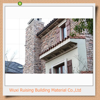 Different size artificial lime stone for wall decoration