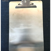 A4 Stainless Steel Clipboards