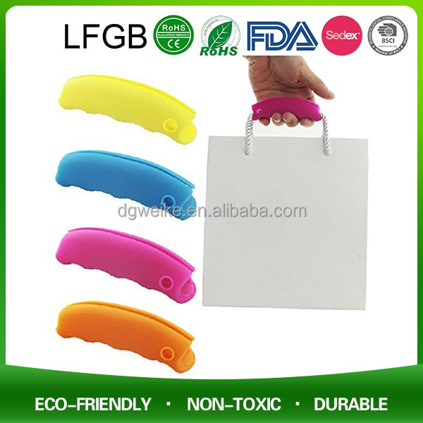 Silicone Grocery Shopping Bag Handles / Hander / Hanger
