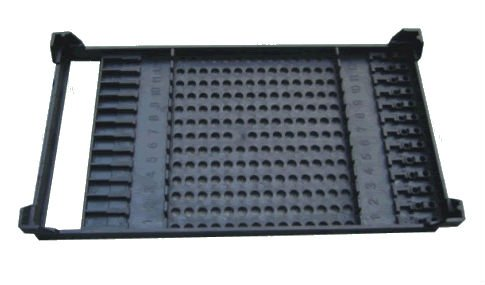 Conductive Tray ESD Tray for storage of PCB board with Apertured