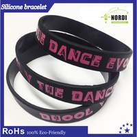 Personalized silicon bracelet/silicon wrist bands /New design best price silicone wristbands