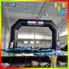 Custom gaint advertising race event starting finish inflatable sports arch