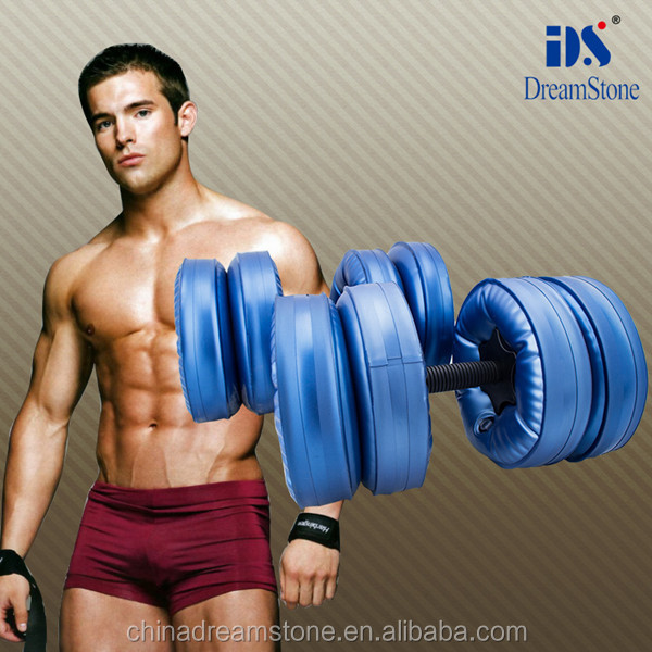 Wholesale weights adjustable Dumbbell Water Filled dumbbell