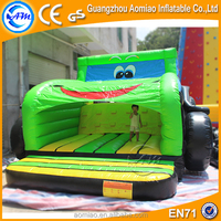 New design inflatable tractor car shape bounce house for sale craigslist