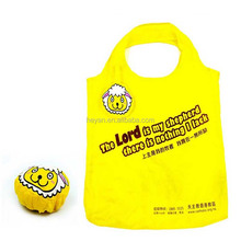 Promotional sheep shaped reusable foldable grocery shopping bags