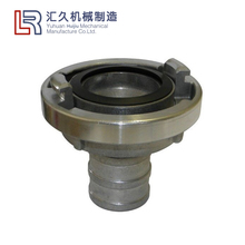 Aluminum or Brass material storz coupling hydraulic quick fire hose coupling