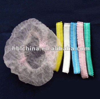 Good price disposable nonwoven clip cap