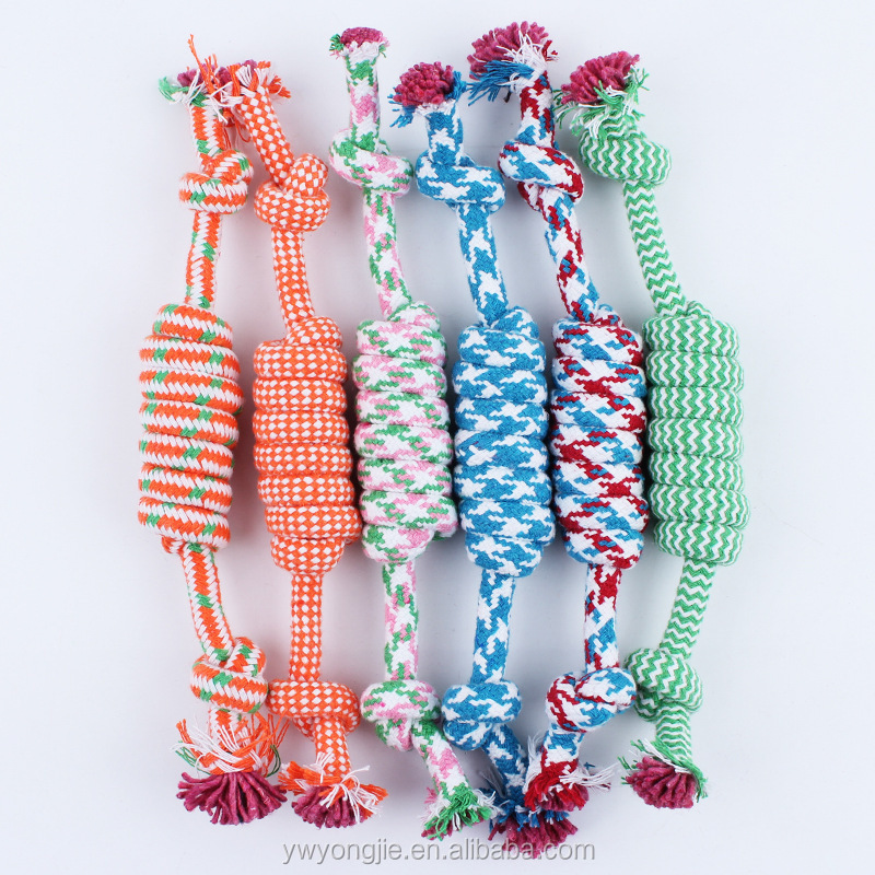 Factory Direct Sale Pet Rope Toys Durable Cheap Cat Dog Chew Toys