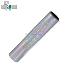 metalized Hologram/holographic bopp thermal lamination/laminating film