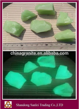High quality glass cullet glow in the dark stone prices