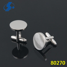 Low-Key Luxury Wedding Jewelry Silver Custom Cufflinks For Men