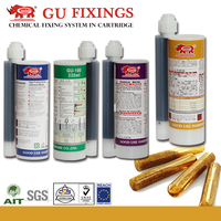 Injection cartridge chemical anchor resin sealant