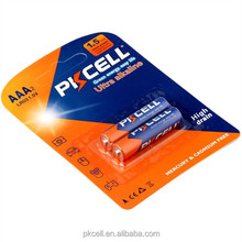 Wholesale OEM or PKCELL logo 1.5v aaa/lr03 alkaline battery
