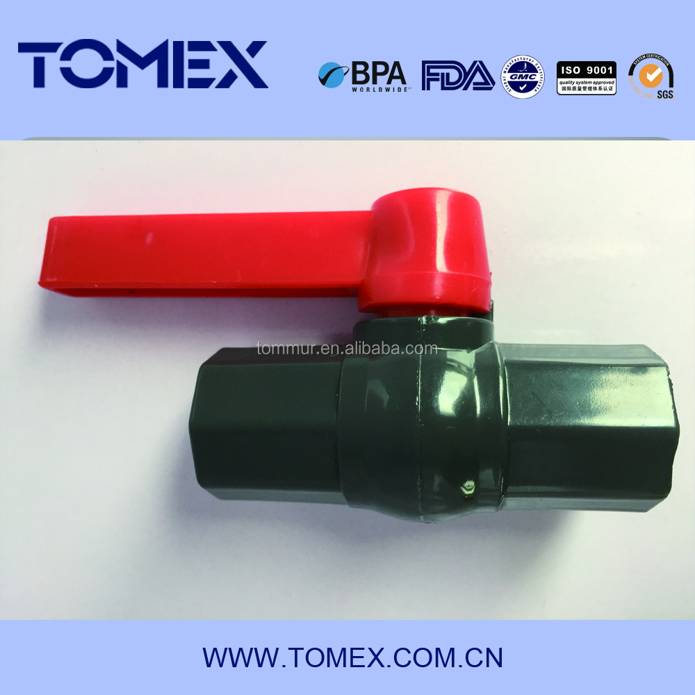 Chinese Manufacture good selling best price for PVC/UPVC Octagan Ball Valve