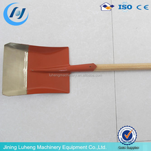 types of steel spade shovel with handle plastic grip