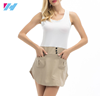 Yihao wholesale summer women dress ladies fashion Simple patchwork casual dress with pocket dress
