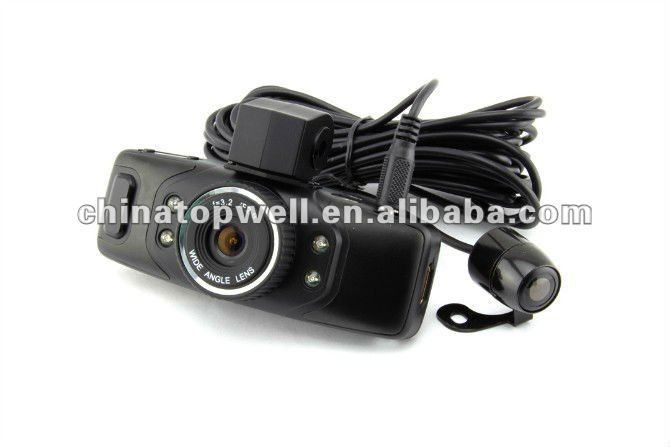 120 Degree 1280*720 720P HD IR Night Vision Compact Design Car DVR,support External Backup Camera