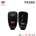 Lixing learning code one way car alarm system spy with central door lock for Middle East Market