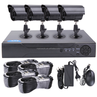 1080p 4 Channel Dvr Kit 4ch Ahd Cvi Tvi Cvbs Ip 5in1 Dvr And Security Camera System