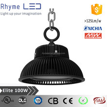 top quality AC100~277V meanwell driver and nichia chip industrial ufo 200w led high bay light