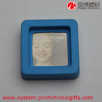 Soft Pvc Fridge magnetic photo frame, beautiful cute holding photo picture frame adult photo frame