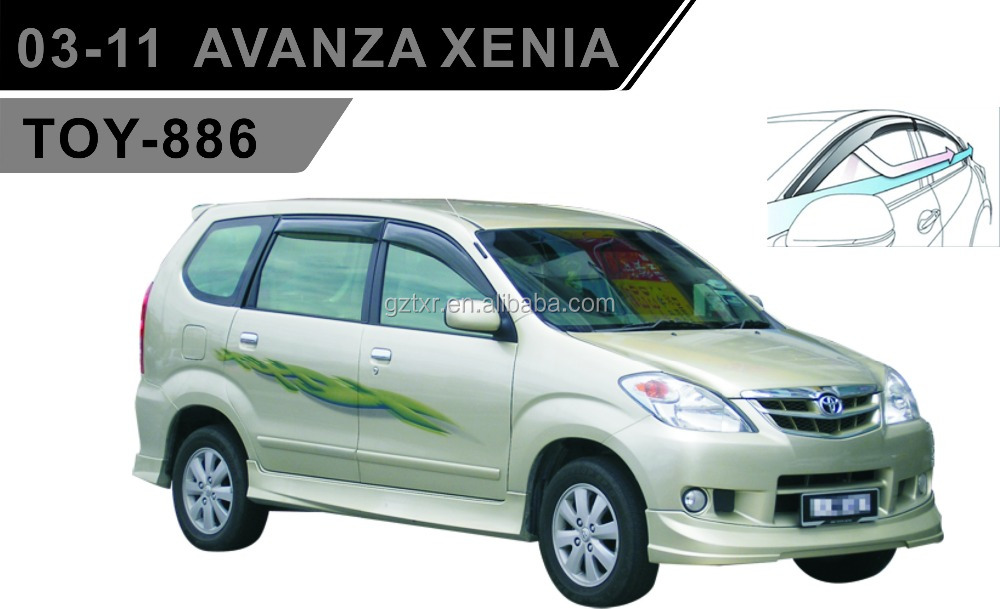 TOYOTA wind Deflector For 03-11 AVANZA XENIA (TOY-886)