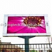 CE RoHS tv video 6x4m P20mm advertising outdoor full color led panel