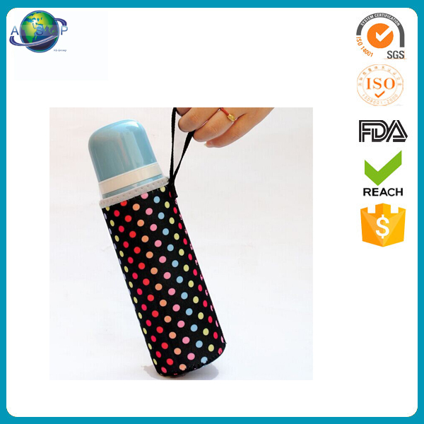Custom Logo hot sale neoprene glass bottle sleeve