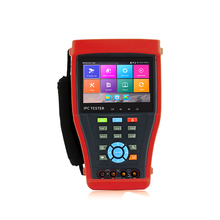 "SMTSEC IPC-4300plus Cable scan Portable Wrist 4.3"" Touch LCD Monitor 4K H.265 IP Network Analog CCTV Camera Tester"