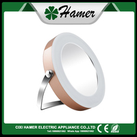 Round Dressing Table Mirror With Led Lights Makeup Mirror Led
