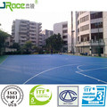 various thickness available silicone PU sports floors plastic floor covering outdoor sport flooring