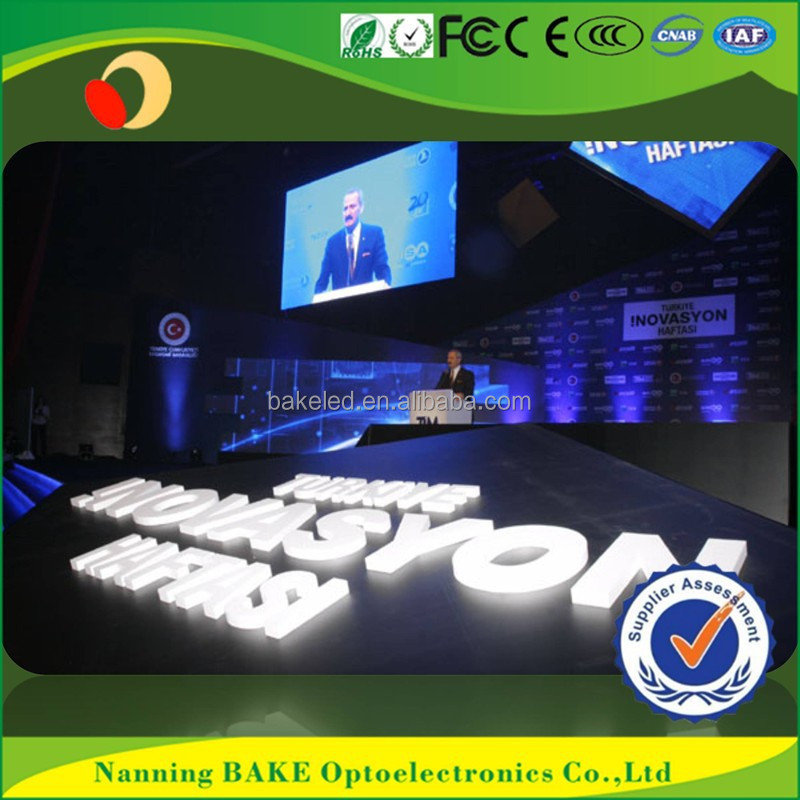 Indoor P3 full color super bright led display screen