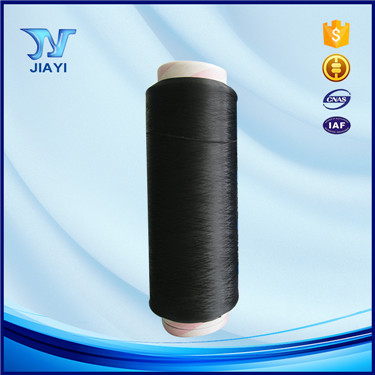 Nylon 6 yarn type DTY 70D/24F black yarn buy direct from China factory
