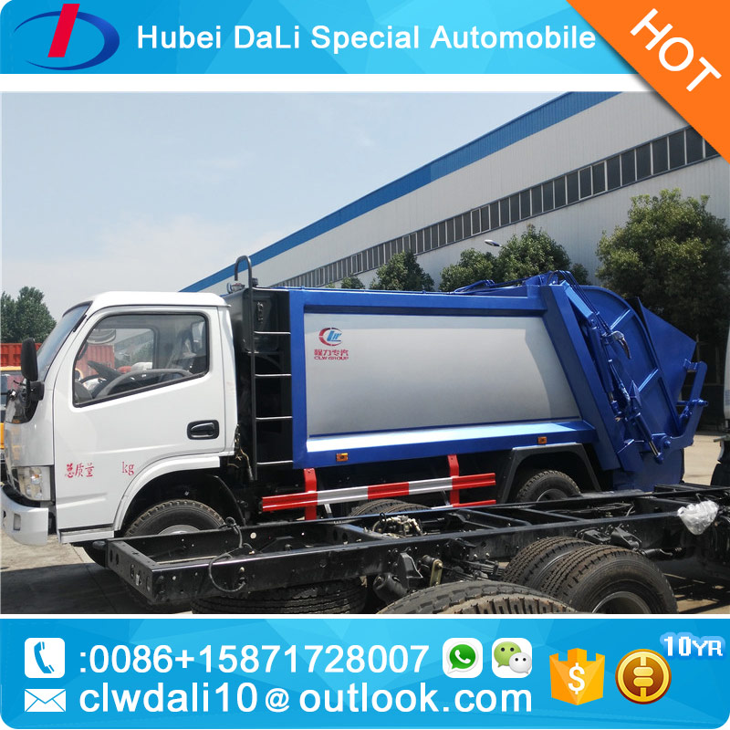 3 ton Compactor Garbage Truck dongfeng Mini Waste Truck