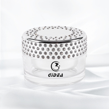 100g high-capacity silver diamonds Acrylic Cream Jars Fast delivery