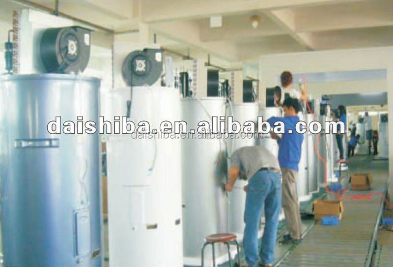 Small Domestic Hot Water Heat Pump systems solar panel collecting heat pump